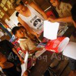 AAAの旅する展覧会カンボジア「Happy Smile」展が開催しました!!