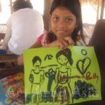 AAAの旅する展覧会カンボジア「Happy Smile」カンボジアの孤児院Sok Cambodia orphanageにてワークショップ開催!!
