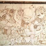 2018.4.28 Dong Room 妖精たちの住むところ -木を焦がして描く、ウッドバーニングの展覧会-