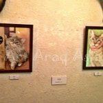 2/21(木)~3/6(水)JOINT 絵画・イラスト「猫町」展が開催しました!!